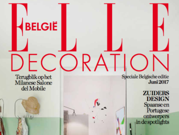 Elle Decoration België / Juni 2017